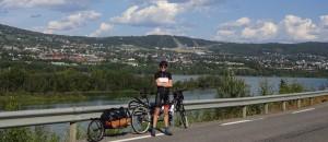 Another milestone: Lillehammer. Noch ein Meilenstein: Lillehammer.